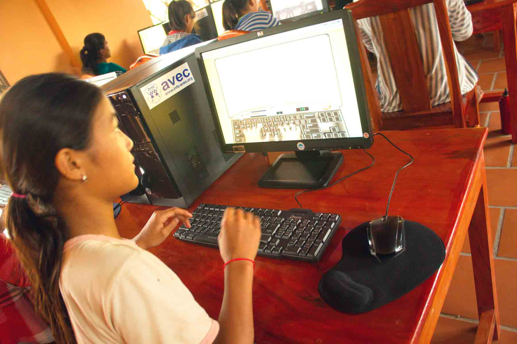 Centre de formation au Cambodge