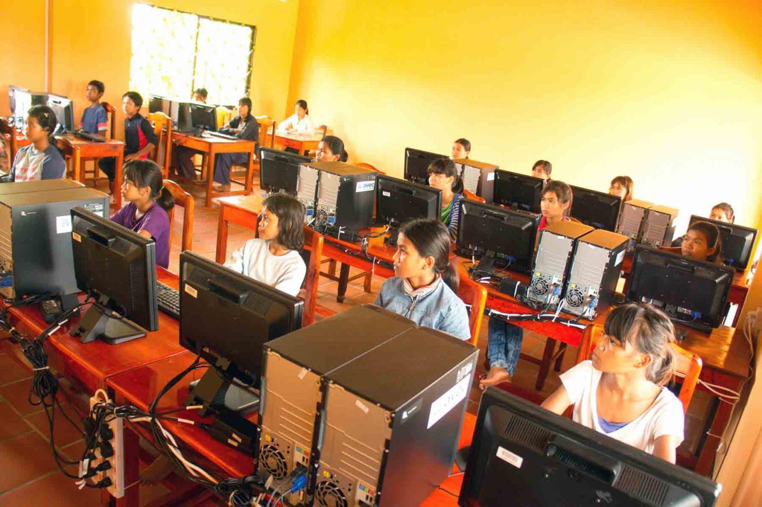 Computer Training Center in Cambodia