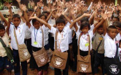 Die Schulbildung von gefährdeten Kindern in Kambodscha